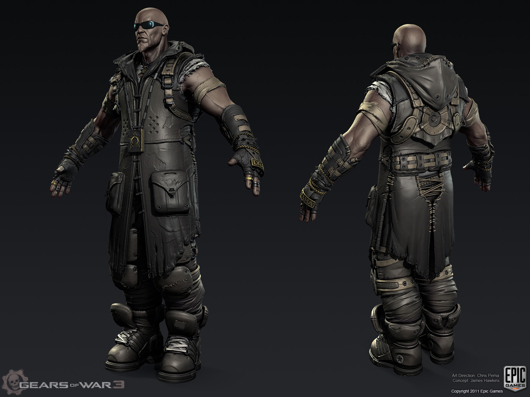 Character Design Gears Of War : Gears of war character stuffs — polycount