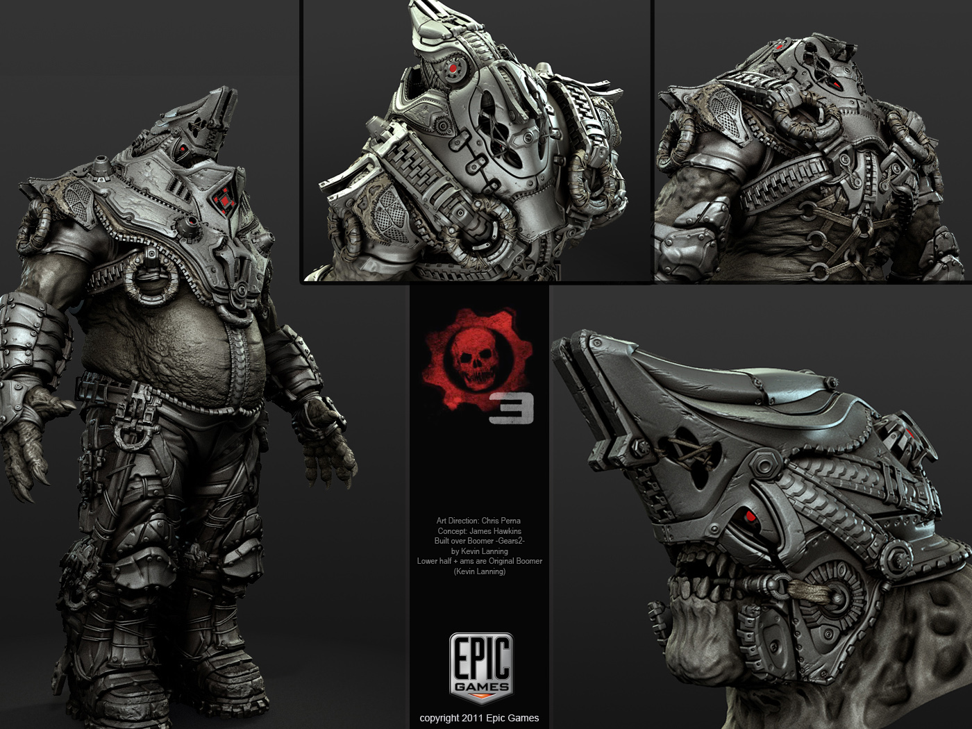 Character Design Gears Of War : Gears of war
