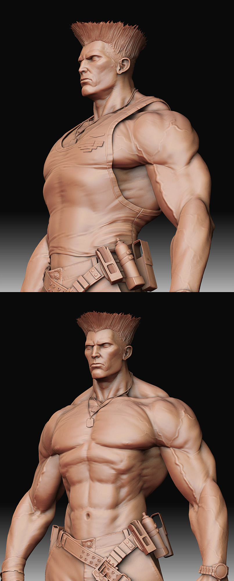 The Guile to show SSFIITHDROMG